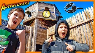 Found Treasure and Mystery Clues in Abandoned Tower!