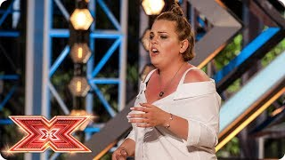 Our Judges love every piece of Rebecca Grace | Auditions Week 2 | The X Factor 2017