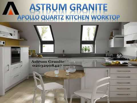 Best Apollo Quartz Kitchen Worktop in London UK - Astrum Granite