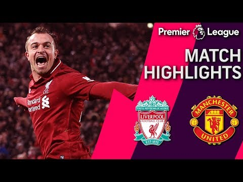 Liverpool v. Man United | PREMIER LEAGUE MATCH HIGHLIGHTS | 12/16/18 | NBC Sports