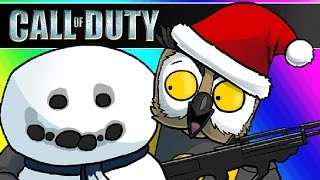 Cod Zombies Funny Moments - Christmas Warehouse Challenges!