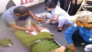Tiếp máu cho Đại úy bị tội phạm rú ga cố sát