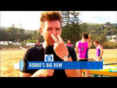 Robbo's Big Row - Studio 10 TV