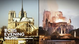 Centuries of history burned in Notre Dame fire