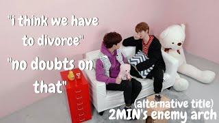seungmin and minho as a divorced couple (a concept)