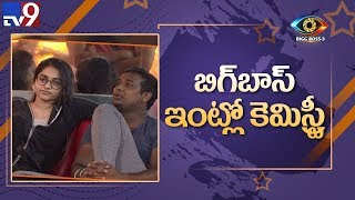 Bigg Boss Telugu 3: Punarnavi gives a peck on Rahul's chee..