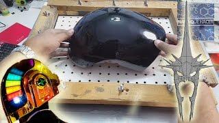 Cubre tu mascara con resina y aprende a hacer el visor del casco de Guy Manuel  NQUEH