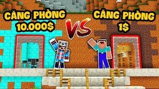 CĂN PHÒNG KIM CƯƠNG 10.000$ VS CĂN PHÒNG ĐẤT 1$ (Oops Mazk Minecraft)