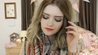 Meg's Boutique – Bright Lip & Bronzed Eye Makeup Tutorial