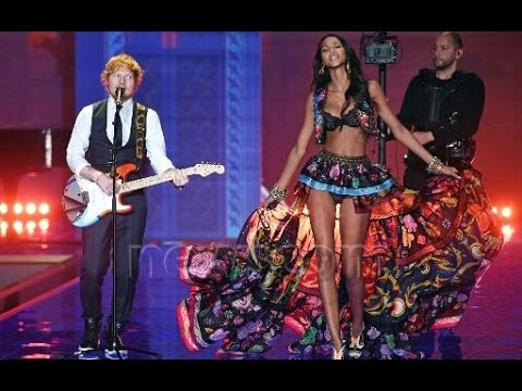 2014 Victoria's Secret Fashion Show Ed Sheeran Ed Sheeran Thinking Out Loud