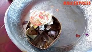 Ini Makna Jajan Saraswati dan Daun Bingin dalam Banten Saraswati