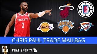 Chris Paul Trade Rumors: Possible Fits With Clippers, Knicks, Lakers, Mavs Or Heat | NBA Mailbag