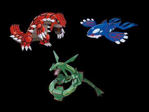 Kyogre Groudon y Rayquaza Wallpaper Pokemon Heartgold And