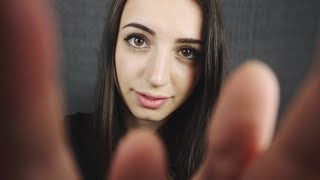 [ASMR] Soft Face Touching | Ear Scratching for Sleep