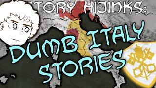 3 Dumb Italy Stories