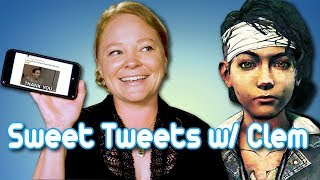 Melissa Hutchison (Voice of Clementine) reads your Sweet Tweets