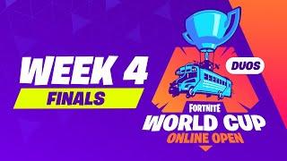 Fortnite World Cup Week 4 Finals