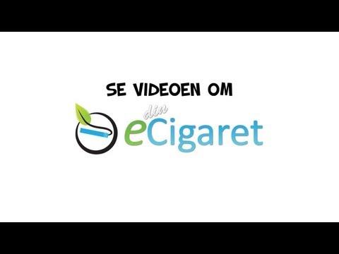 Din e-cigaret præsentationsvideo