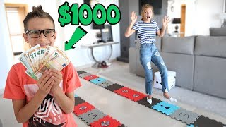 GIANT BOARD GAME CHALLENGE!!! Winner gets $1000!!!!!!