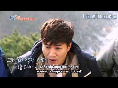Kim Jong Min Funny Speech at Awards (Top Excellence Award for Variety Field)