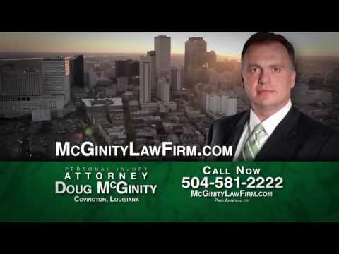 McGinity Law Firm is your personal injury firm in Covington, LA specializing in car, 18-wheeler accidents, and wrongful death. Visit http://www.mcginitylawfirm.com/ for a free consultation or call 504-581-2222.