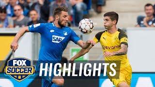 1899 Hoffenheim vs. Borussia Dortmund | 2018-19 Bundesliga Highlights
