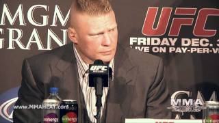 UFC 141: Lesnar vs Overeem Pre-Fight Press Conference (Complete and Unedited)