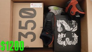 Unboxing a $1200 Sneakers Only Mystery Box! (Beater Box)