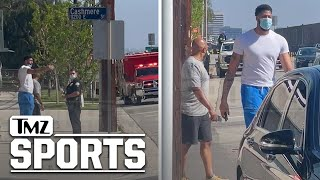 Anthony Davis Rushes to Motorcycle Crash Site to Aid His Security | TMZ Sports