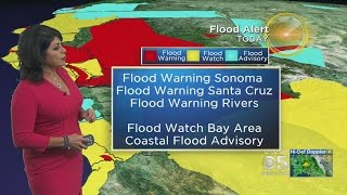 STORM COVERAGE:  KPIX 5's Roberta Gonzales With The :Latest On The Storm