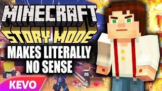 Minecraft Story Mode makes literally no sense
