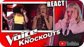 KELLY CLARKSON SURTA COM KYLA JADE vs JACLYN The Voice 2018 KNOCKOUTS