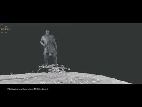 Paul Parneix FX Demo Reel 2016 - destruction /SC Joints / Fragment