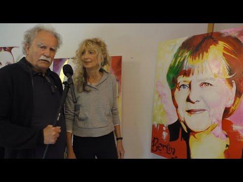 Mit Pulheimtv, ein Besuch im Atelier