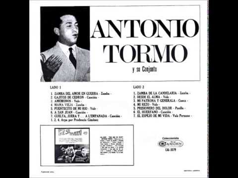 EL ESPEJO DE MI VIDA - ANTONIO TORMO