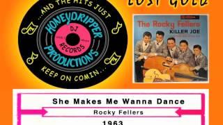 Rocky Fellers - She Makes Me Wanna Dance - 1963