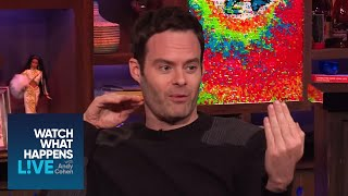 That Time The Rock Threw Bill Hader on SNL | WWHL