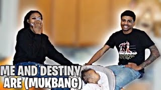 ME AND DESTINY ARE ... 🥰😳 (Mukbang)
