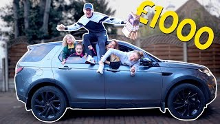 LAST TO LEAVE THE CAR WINS £1000 & My Wife is CHEATING PRANK