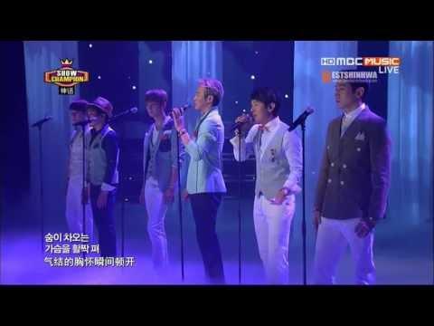 130522 MBC Music Show!Champion SHINHWA CUT