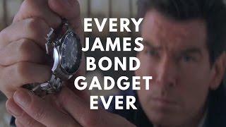 Every James Bond Gadget. Ever.