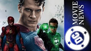 Superman's Role in JL, New Flash Writer & More! - DC Movie News