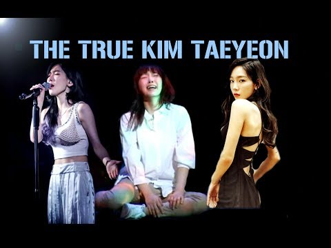 The two sides of Taeyeon☯ (Real personnality)