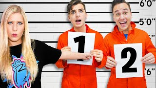 I Sent My Little Brother to PRISON School! *max security*
