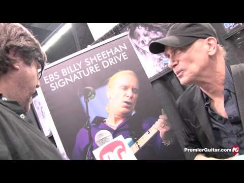NAMM '13 - EBS Billy Sheehan Signature Drive