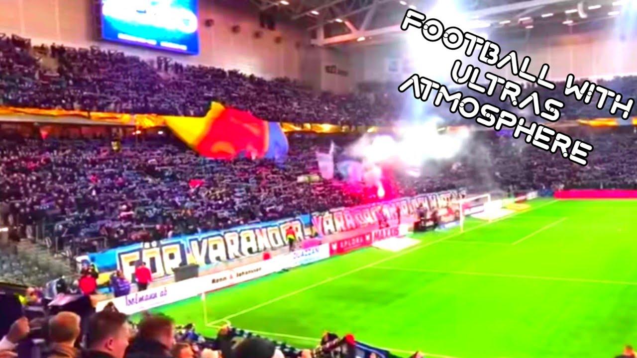 Djurgarden fans with their version of Hey Jude - Ultras Sweden