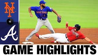 Travis d'Arnaud plates five in win vs. Mets   Mets-Braves Game Highlights 7/31/20