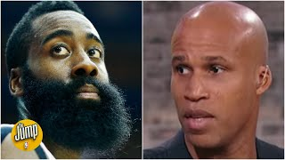 Robert Horry and Richard Jefferson react to the James Harden trade | The Jump