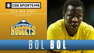 Nuggets cash in on Bol Bol's Draft night PLUNGE | 2019 NBA Draft | CBS Sports HQ