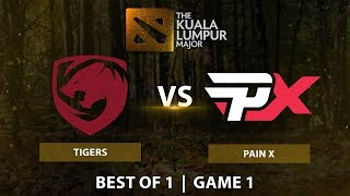 Tigers vs Pain X | Best of 1 LB Round 1 | Game 1 | The Kuala Lumpur Major